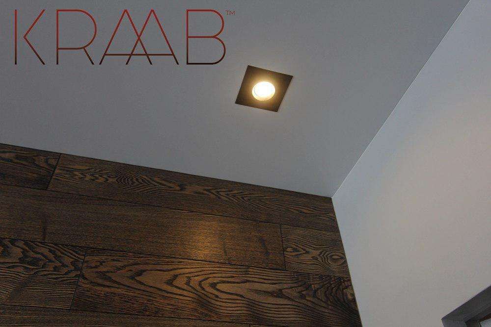 Натяжные потолки KRAAB - Бесщелевая система крепления